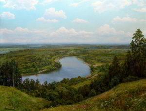 пейзаж Десна под Трубчевском