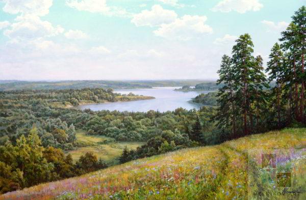 пейзаж Летний